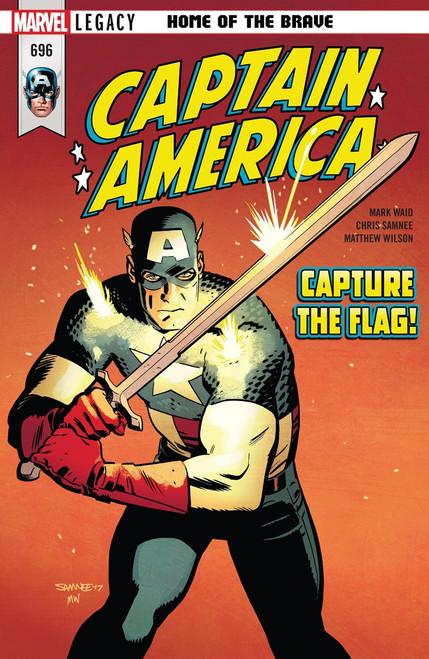 Marvel Comics Marvel Legacy Captain America #696 Comic Book