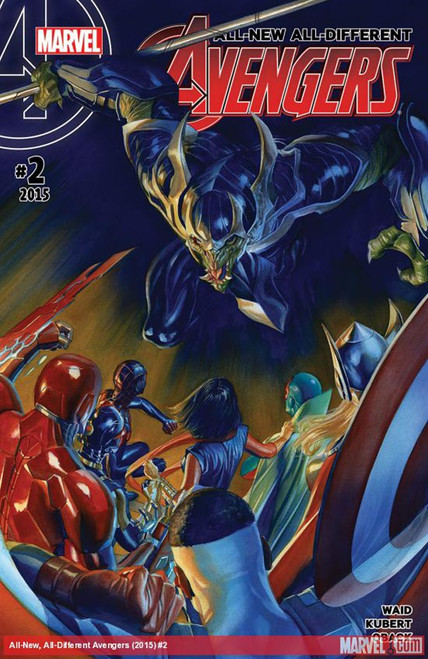 Marvel Comics All-New All-Different Avengers #2 Comic Book