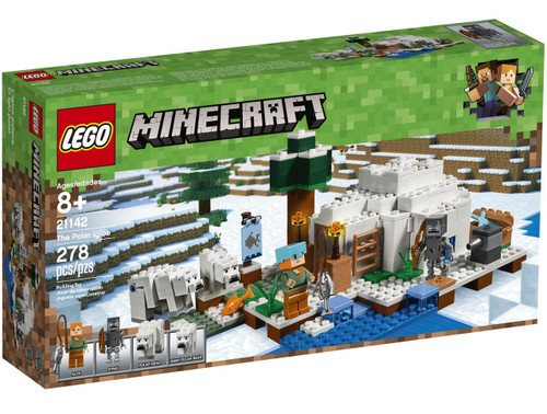 LEGO Minecraft The Polar Igloo Set #21142