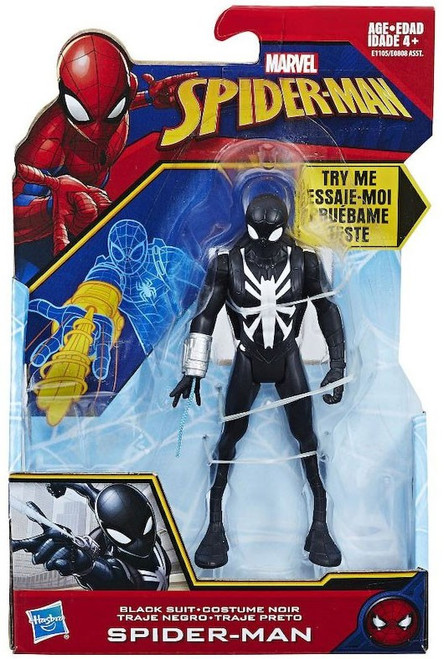 Marvel Black Suit Spider-Man Action Figure