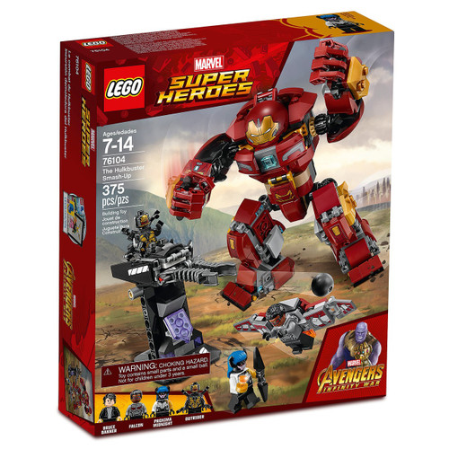 LEGO Marvel Super Heroes Avengers Infinity War The Hulkbuster Smash-Up Set #76104