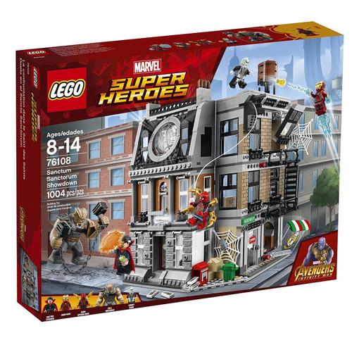 LEGO Marvel Super Heroes The Sanctum Sanctorum Showdown Set #76108