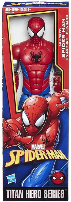 Titan Hero Series Web Warriors Armored Spider-Man Action Figure
