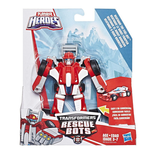 Transformers Playskool Heroes Rescue Bots Heavwave the Fire Bot Action Figure [Rescan]