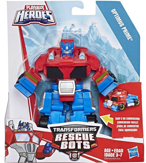 Transformers Playskool Heroes Rescue Bots Optimus Prime Trailer Action Figure [Rescan]