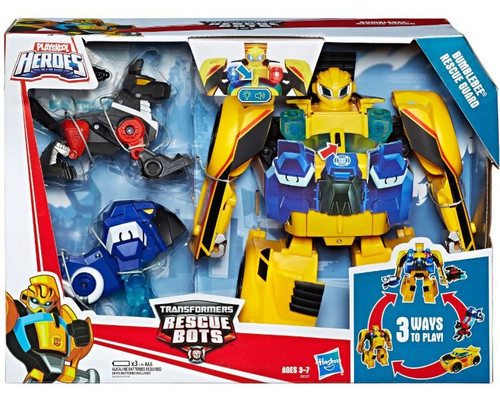 Transformers Playskool Heroes Rescue Bots Rescue Guard Bumblebee Action Figure