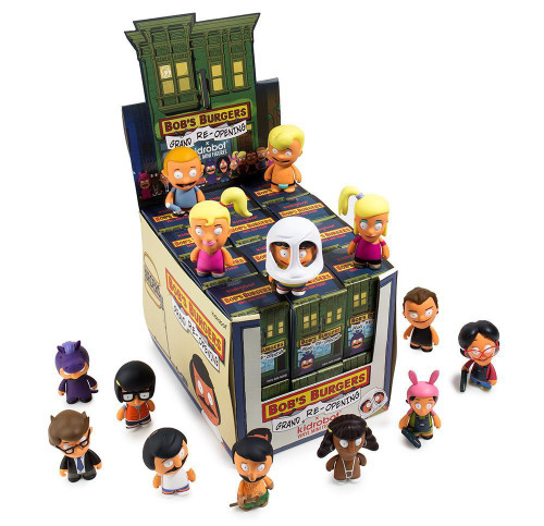 Bob's Burgers Vinyl Mini Figure Series 2 (Grand Re-Opening) 3-Inch Mystery Box [24 Packs]