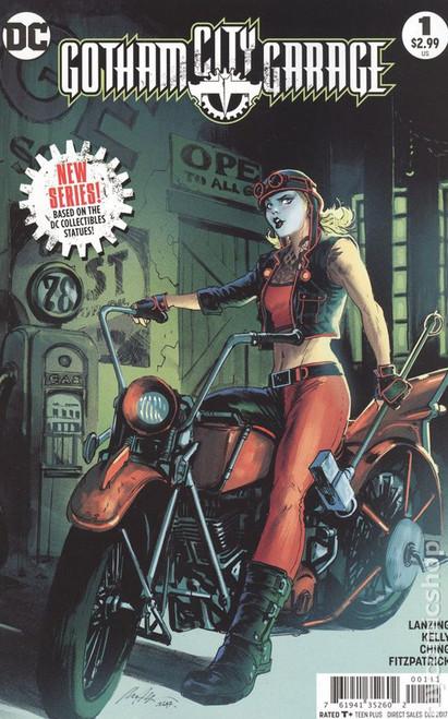 DC Gatham City Garage #1 Comic Book