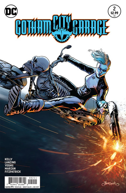 DC Gatham City Garage #2 Comic Book