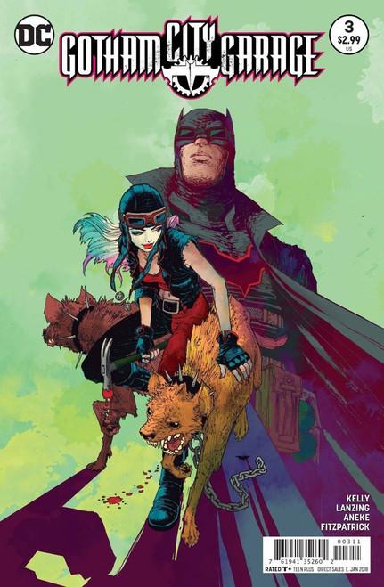 DC Gatham City Garage #3 Comic Book