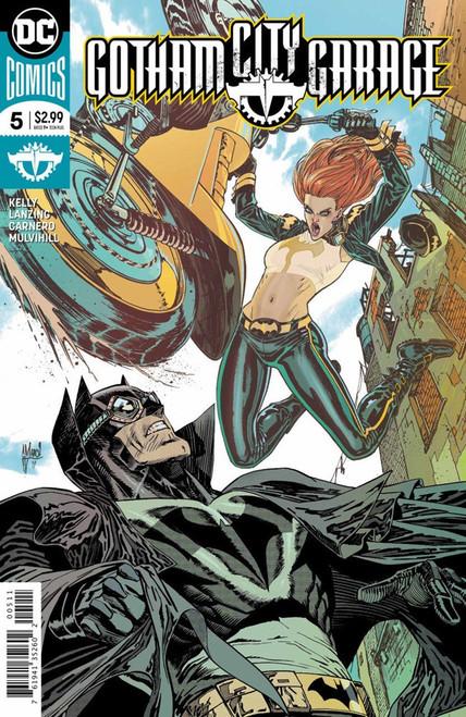 DC Gatham City Garage #5 Comic Book