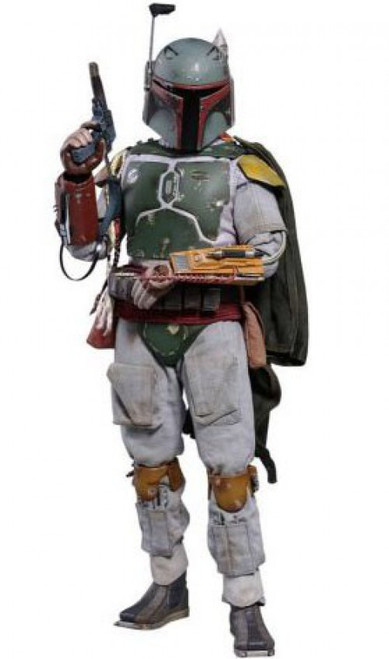 Star Wars The Empire Strikes Back Movie Masterpiece Boba Fett Collectible Figure [Deluxe Version]
