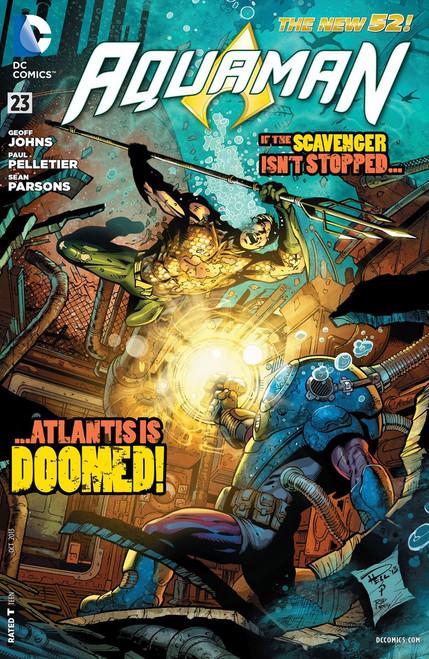 DC The New 52 Aquaman #23 Comic Book