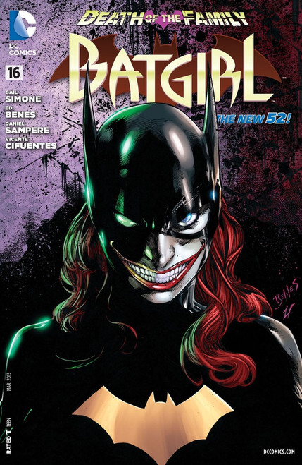 DC The New 52 Batgirl #16 Death of The Family Comic Book