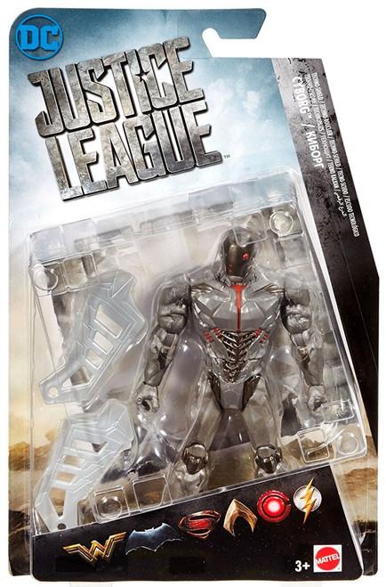 DC Justice League Movie Cyborg Action Figure [Techno-Shield]