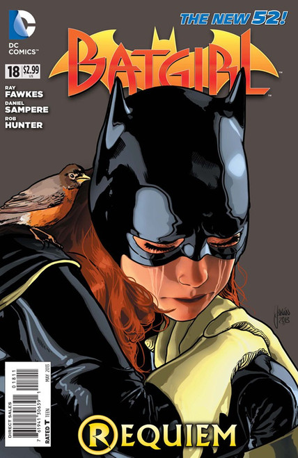 DC The New 52 Batgirl #18 Requiem Comic Book