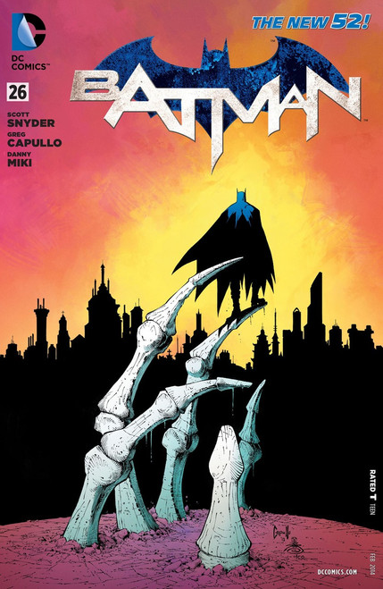 DC The New 52 Batman #26 Zero Year Comic Book