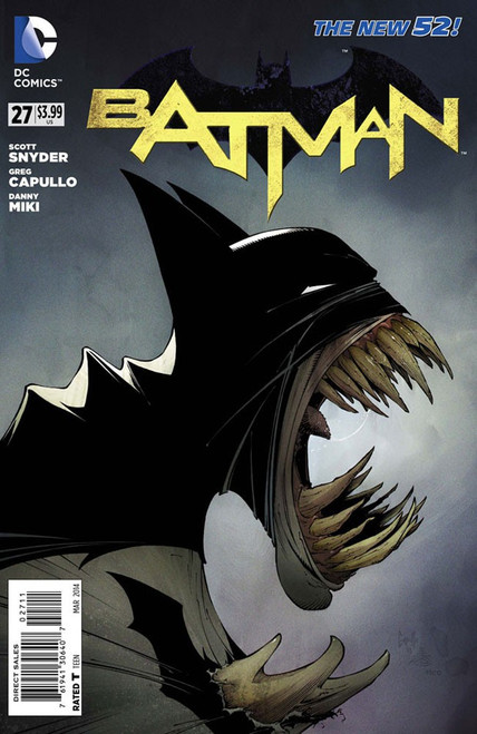 DC The New 52 Batman #27 Zero Year Comic Book