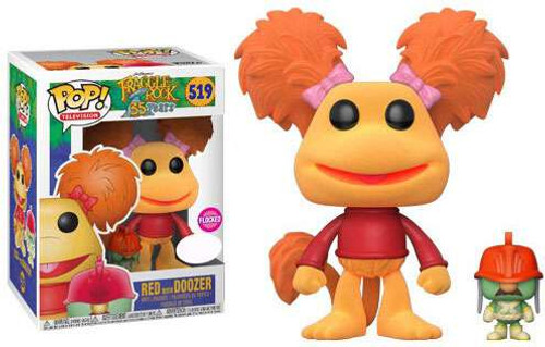 Funko Fraggle Rock POP! TV Red with Doozer Exclusive Vinyl Figure #519 [Flocked]