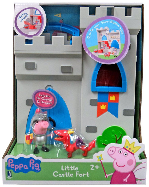 Peppa Pig Little Castle Fort Playset