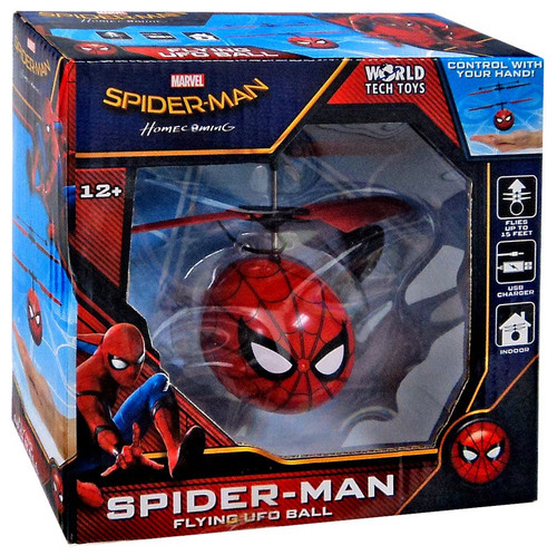 Marvel Spider-Man: Homecoming Spider-Man Flying UFO Ball