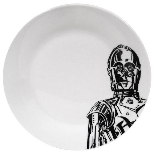 Star Wars C-3PO Appetizer Plate