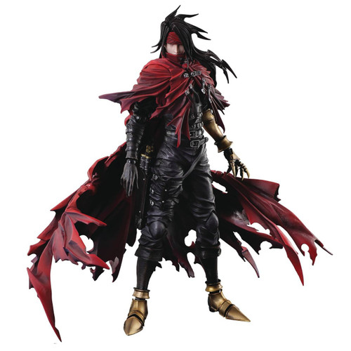 Final Fantasy VII: Dirge of Cerberus Play Arts Kai Vincent Valentine Action Figure [Dirge of Cerberus]