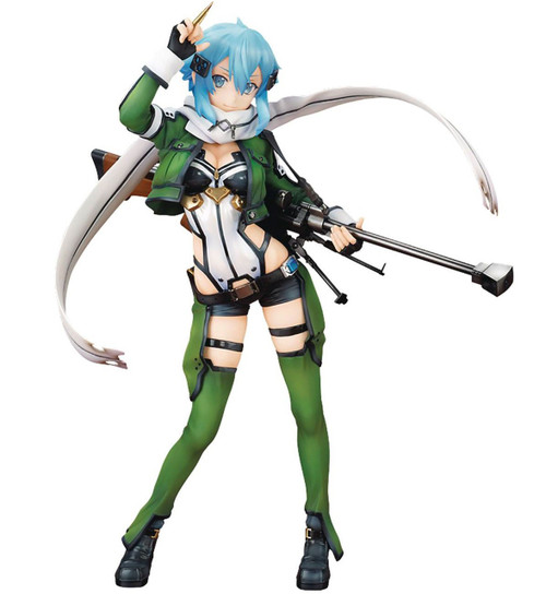 Sword Art Online II Sinon 9.75-Inch Collectible PVC Figure