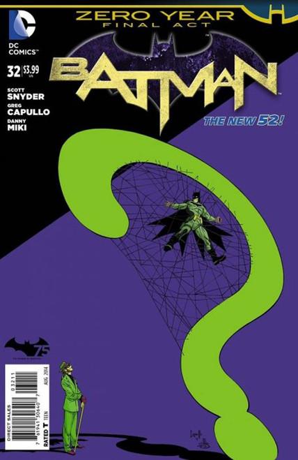DC The New 52 Batman #32 Zero Year Comic Book