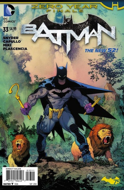 DC The New 52 Batman #33 Zero Year Comic Book