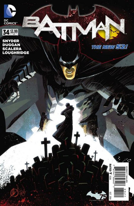 DC The New 52 Batman #34 Comic Book