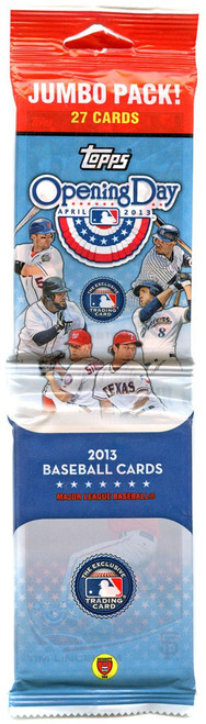 MLB Topps 2013 Opening Day Baseball Trading Card JUMBO Pack