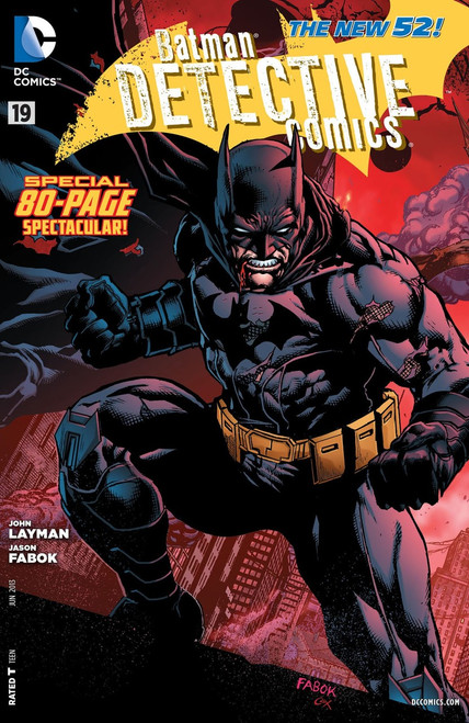 DC The New 52 Detective Comics Batman #19 Comic Book