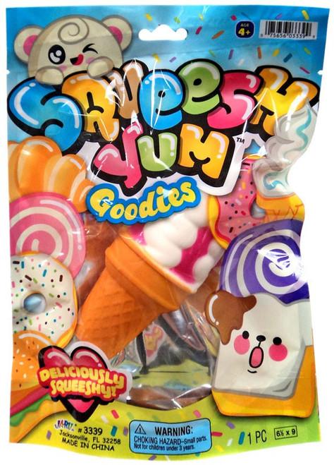 Squeesh Yum Goodies Creamy Cone Squeeze Toy [RANDOM Color]