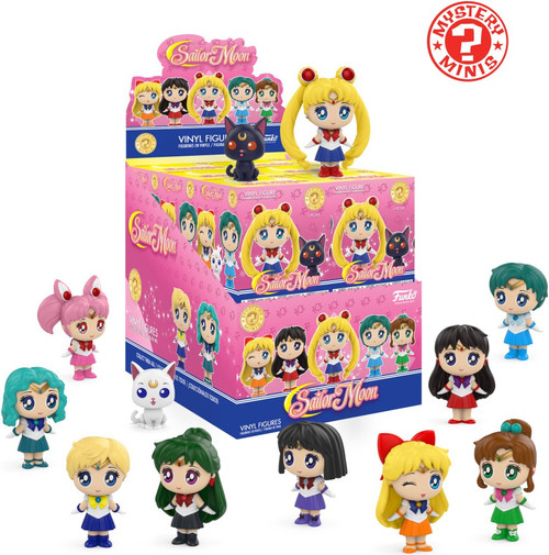 Funko Mystery Minis Sailor Moon Mystery Box [12 Packs]