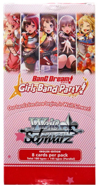 Weiss Schwarz BanG Dream! Girls Band Party! Booster Box [20 Packs]