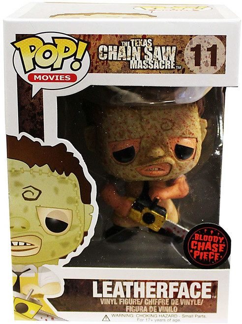 Funko The Texas Chainsaw Massacre POP! Movies Leatherface Vinyl Figure #11 [Bloody Chase Piece]