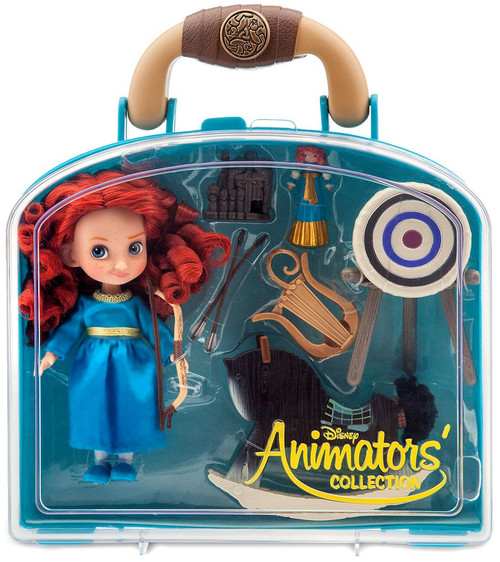 Disney Brave Animators' Collection Merida Exclusive Mini Doll Playset