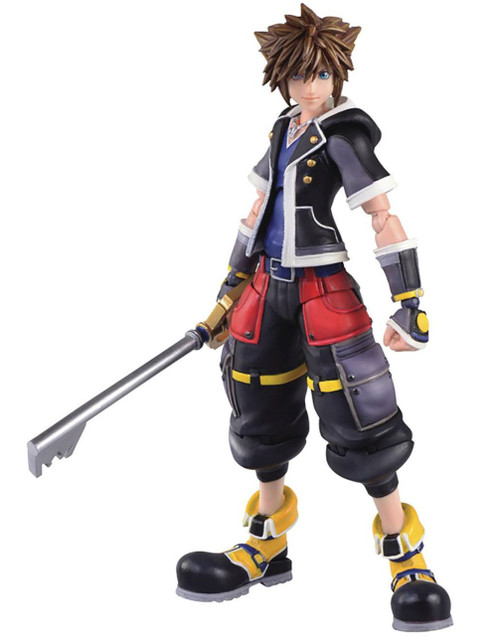Disney Kingdom Hearts III Bring Arts Sora Exclusive Action Figure [2nd Form Version]