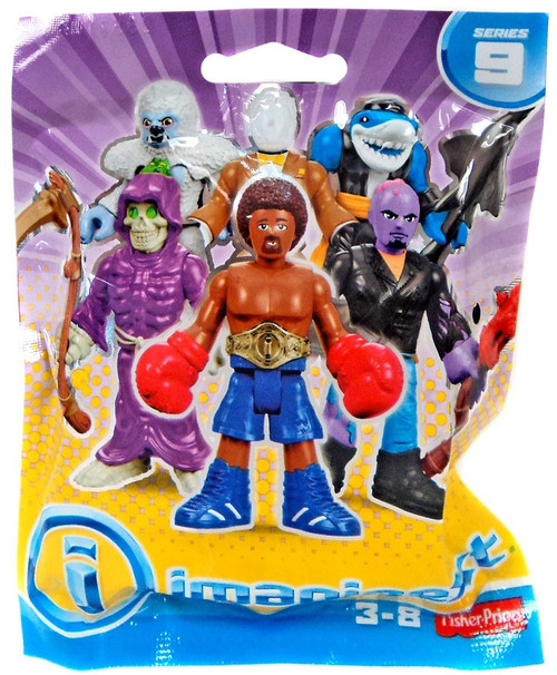 Fisher Price Imaginext Series 9 Collectible Figure Mystery Pack