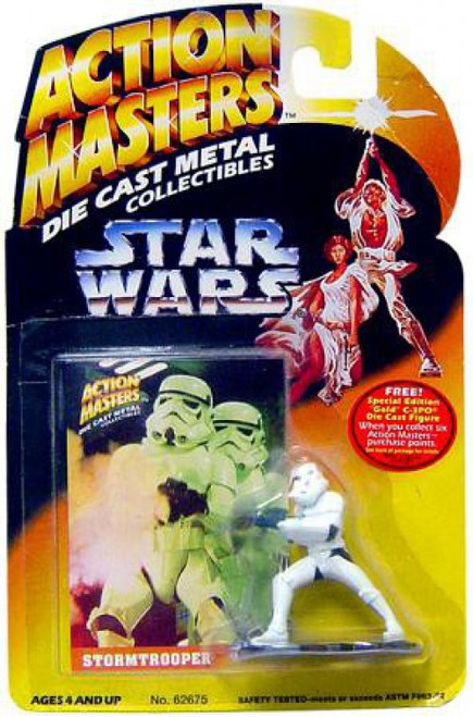 Star Wars Power of the Force Action Masters Stormtrooper Die Cast Figure