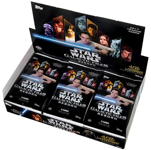 Star Wars Topps Galactic Files Reborn Trading Card HOBBY Box [24 Packs]
