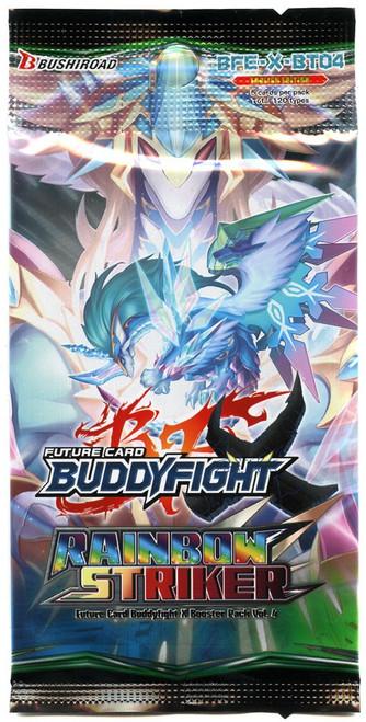 Future Card BuddyFight Trading Card Game Rainbow Striker Trading Card Pack BFE-X-BT04