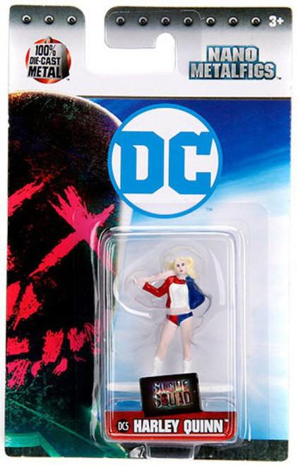 DC Suicide Squad Nano Metalfigs Harley Quinn 1.5-Inch Diecast Figure DC5 [DC5]