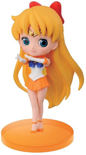 Sailor Moon 20th Anniversary Q Posket Petit Vol. 2 Sailor Venus 2.8-Inch Collectible Figure