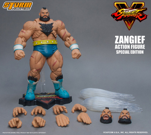 Street Fighter V Zangief Action Figure [Special Edition]