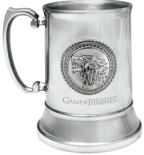 Game of Thrones House Stark Stainless Steel Stein
