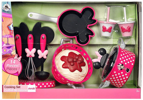 Disney Minnie Mouse Cooking Set Exclusive Playset [2017, Set #5, Damaged Package]