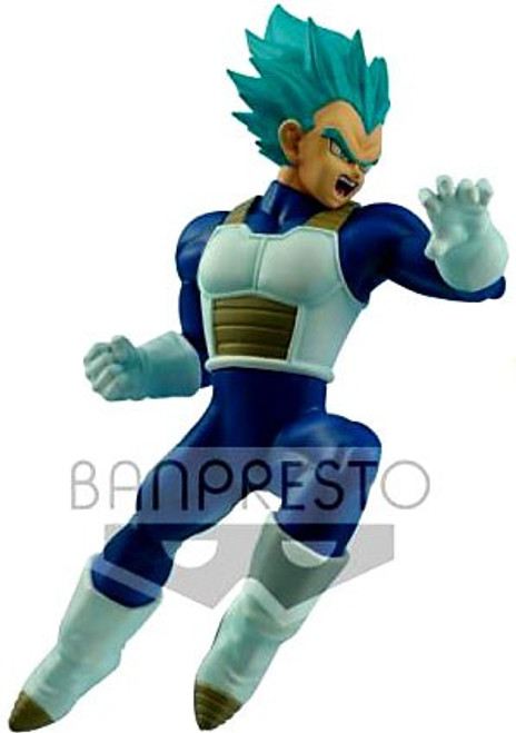 Dragon Ball Super In Flight Fighting Figures Super Saiyan Blue Vegeta 6.3-Inch Collectible PVC Figure