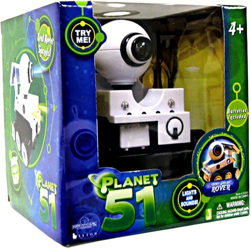 Planet 51 Bump & Go Rover Mini Figure [Lights & Sounds]